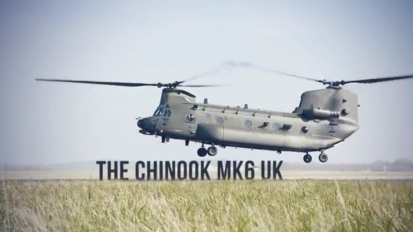 Chinook Mk 6 Product Launch