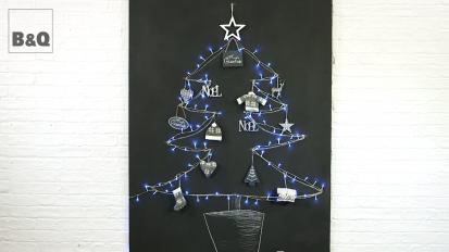 B&Q Chalkboard Xmas Tree